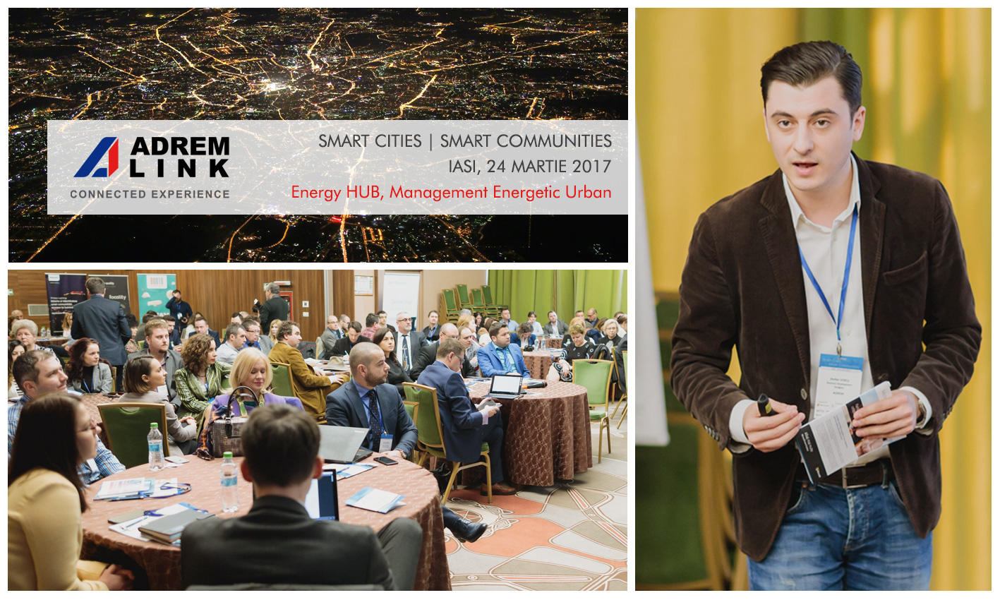Management Energetic Urban la Smart Cities, Smart Communities – Iași