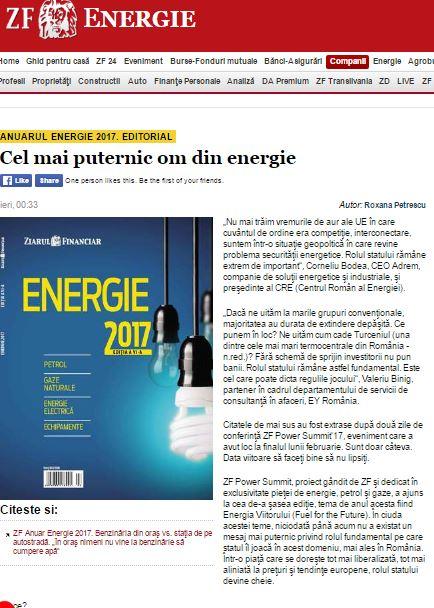 Schimbările geopolitice și implicațiile în domeniul energiei